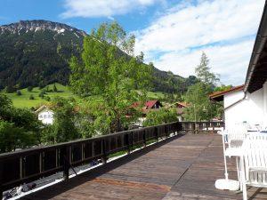 Gasthof Aggenstein - Balkonblick