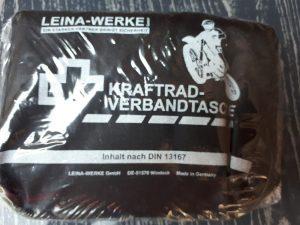 Erste-Hilfe-Tasche für Motorradfahrer