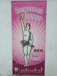 Bierwerbung Villabassa
