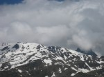 Unwetter in den Bergen